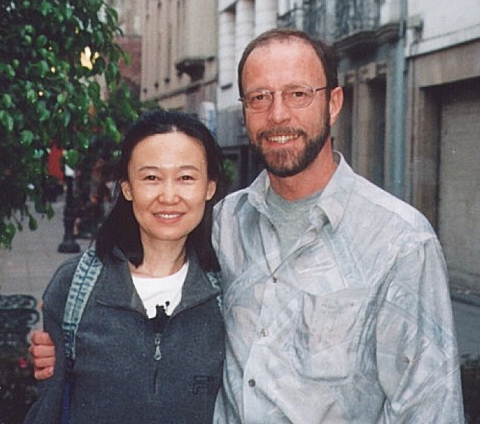 Xue & Gerhard in Mexico-City